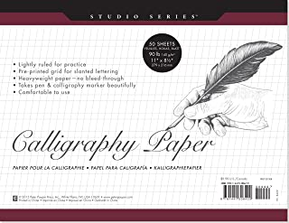 Studio Series Calligraphy Paper Pad: 50 Sheets