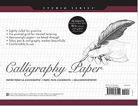 Studio Series Calligraphy Paper Pad: 50 Sheets Book PDF
