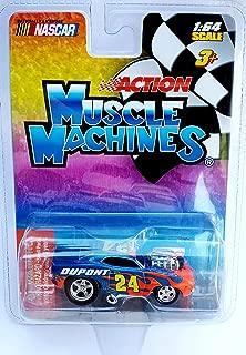Muscle Machines Nascar's #24 Jeff Gordon Dupont Car 1:64 Scale