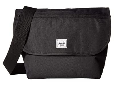 Herschel Supply Co. Grade Mid-Volume (Black) Messenger Bags