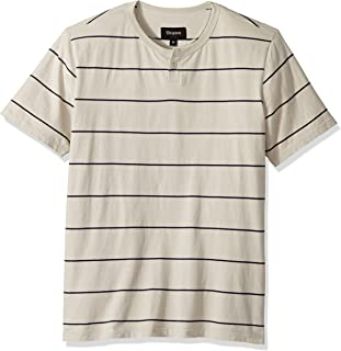 Brixton Men's Milwaukee Short Sleeve Henley