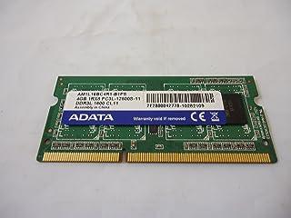 ADATA 低電圧対応メモリ (1.35 V) PC3-12800S (DDR3-1600) 4GB SO-DIMM 204pin (AM1L16BC4R1-B1PS) ノートパソコン用メモリ 動作保証品