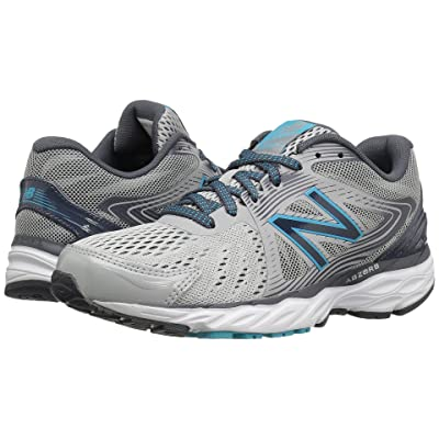 New Balance 680v4 (Steel/Thunder/Ozone Blue Glo) Women
