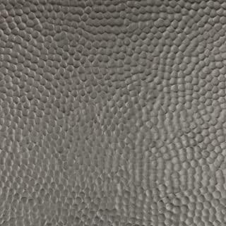 CopperSmith Range Hood - Finish Sample in Bronze Copper & Beehive Hammered Texture.