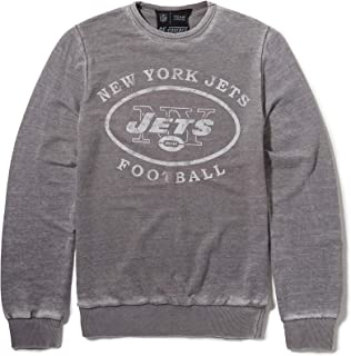 NFL New York Jets Football Print Grey Sweatshirt by Re:Covered