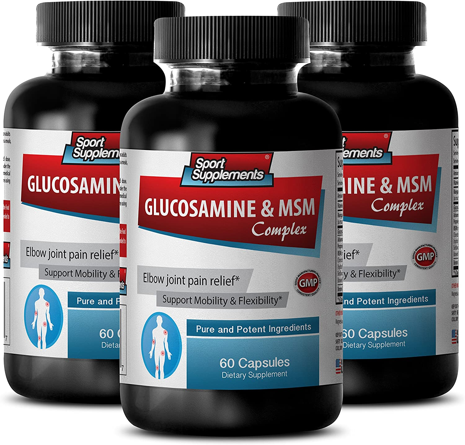 Metabolism Pills - Challenge the lowest price of Japan GLUCOSAMINE MSM 3 Max 54% OFF 3200MG Miracle msm Bo