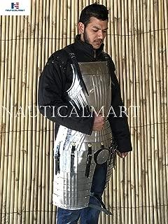 NAUTICALMART Gothic Breastplate Medieval Armor Steel Costume Reenactment