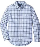 Polo Ralph Lauren Kids - Checked Cotton Oxford Shirt (Little Kids/Big Kids)