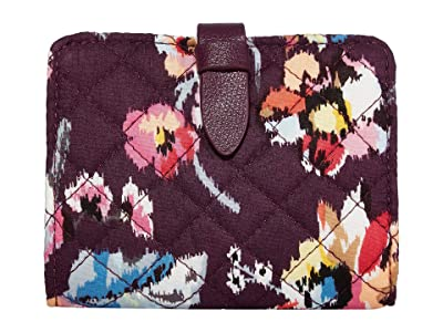 Vera Bradley Iconic RFID Small Wallet (Indiana Rose) Wallet Handbags