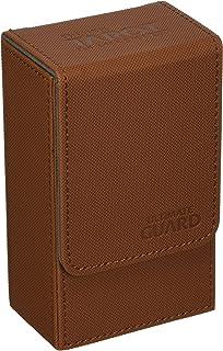 Ultimate Guard French Tarot Card Flip 80+ XenoSkin Deck Box, Brown
