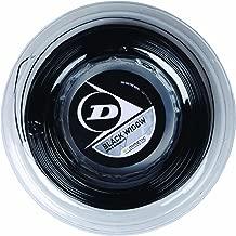Dunlop Sports 200M/660' Black Reel Widow Tennis String