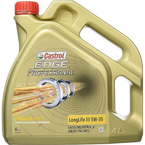 Castrol 57031-4 Aceite del Motor Edge Professional Titaniumfst LON 4 l