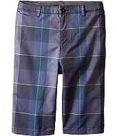 Under Armour Kids - Cross-Hand Yarn-Dye Shorts (Big Kids)