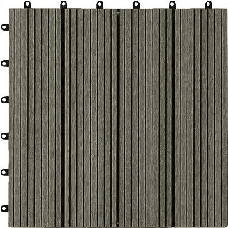 Loseta composite maciza base plástica 300x300 mm. (caja:11 uds, 1 m²).