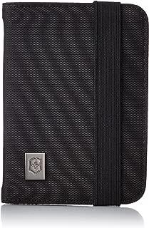 Victorinox Passport Holder with RFID Protection, Black/Black Logo