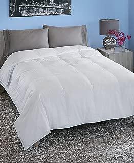 Spring Air 66211 Hypoallergenic Cotton Cover Luxury Loft Down Alternative Comforter/Duvet Insert, Twin/68 x 90