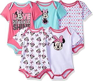 Disney Baby Minnie Mouse - Conjunto de 5 Body