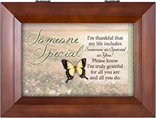 Image of Someone Special Butterfly Music Box