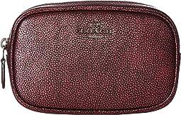 Metallic Leather Dressy Belt Bag