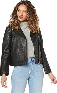 A|X Armani Exchange Women's Armani Exchange Leather Blouson