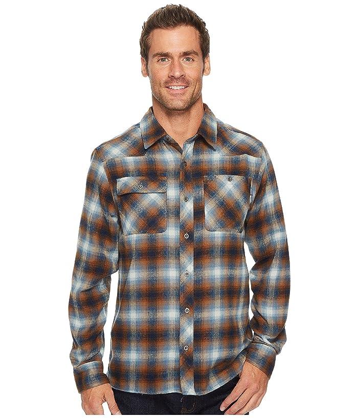Outdoor Research Feedback Flannel Shirttm (Night/Saddle) Men