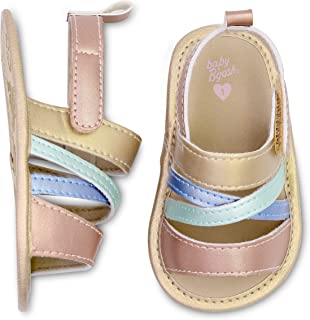 Carter's Girls Strappy Sandals Crib Shoe
