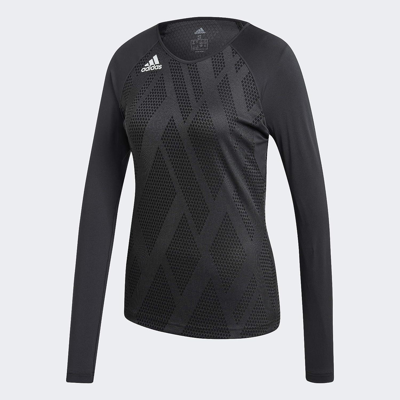 adidas Women's 商品追加値下げ在庫復活 Quickset Long-sleeve Jersey 贈与