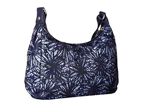 New Wristlet Out RFID Classic Baggallini About con Indigo Bagg Floral y Phone azdwEw