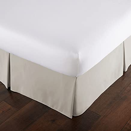 featured product Southshore Fine Linens - VILANO Springs - 15 inch Drop Pleated Bed Skirt,  Bone,  Queen
