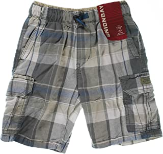 8b8e1316d Unionbay® Boys' 100% Cotton Cargo Short With Pull On, Elastic Waist