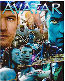 Avatar 8 X 10 Movie Poster Autograph on Glossy Photo Paper