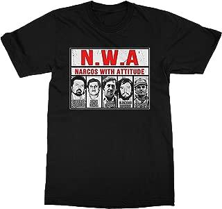 NWA Narcos Pablo Escobar Chapo Black Shirt for Men
