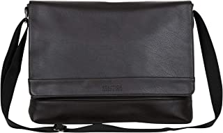 Kenneth Cole Reaction Grand Central Vegan Leather Laptop & Tablet Crossbody Travel Messenger Bag