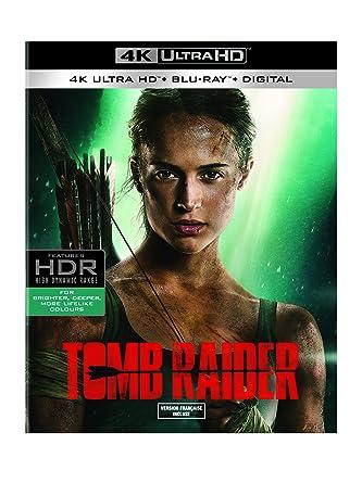 Tomb Raider (Bilingual) [4K UHD + Blu-Ray + Digital]