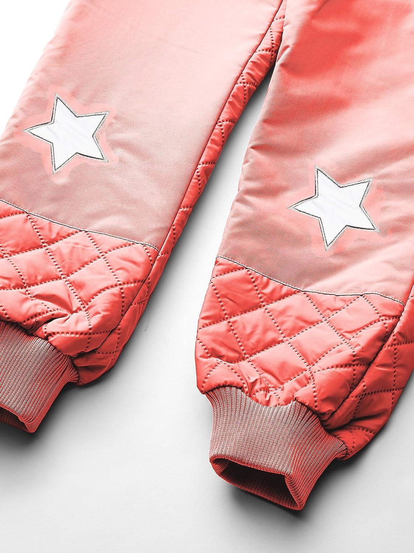 MIKK-Line Melton boys Quilted Thermoset Top /& Bottom Snow Set