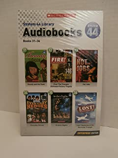 System 44 Library Audiobooks and Paperbacks 31-36 (Beauty and the Geek, Fire, Hot Jobs, Everyday Heroes, Arabian Nights, Lost)