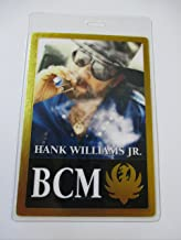 hank williams jr backstage pass