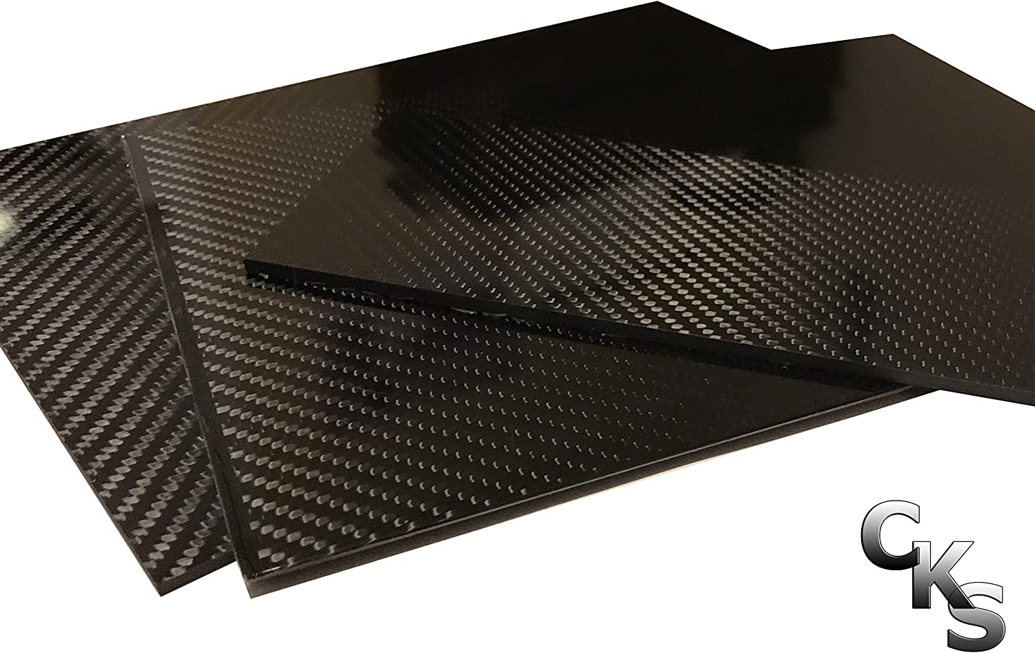 1 Carbon Max 76% OFF Fiber Plate - 100mm x 100% 3mm service Thick 250mm To -3K