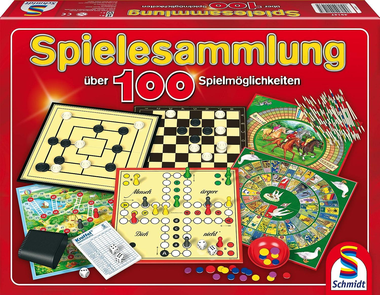 10IT4001504493554IT10 Schmidt Spiele Alle Sch/öne intelligente Einzelblock W/ürfelspiel