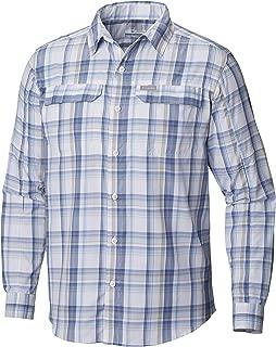 Columbia Men's Silver Ridge 2.0 Plaid Long Sleeve Shirt, UV Sun Protection, Moisture Wicking Fabric