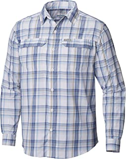 Columbia Men's Silver Ridge 2.0 Plaid Long Sleeve Shirt, UV Sun Protection, Moisture Wicking Fabric
