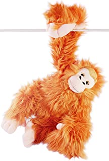 VIAHART Ornaldo The Orangutan Monkey   21 Inch (with Hanging Arms Outstretched) Stuffed Animal Plush Chimpanzee   by Tiger Tale Toys