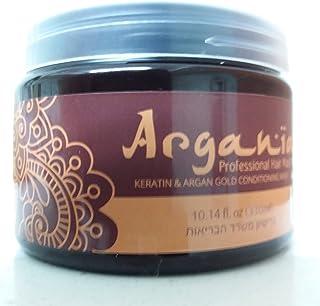 Argania アルガンオイル&ケラチンプロヘアマスクアルガニア10.14 fl oz 330ml