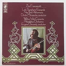 Zino Francescatti / Walton: Violin Concerto and Lalo: Symphonie Espagnole