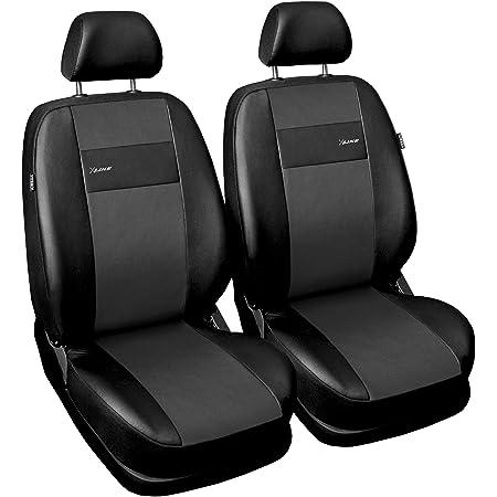 Gsc Sitzbezüge Auto Vordersitze Universal Autositzbezüge Schonbezüge Vorne Kunst Leder X Line Kompatibel Mit Suzuki Jimny Auto
