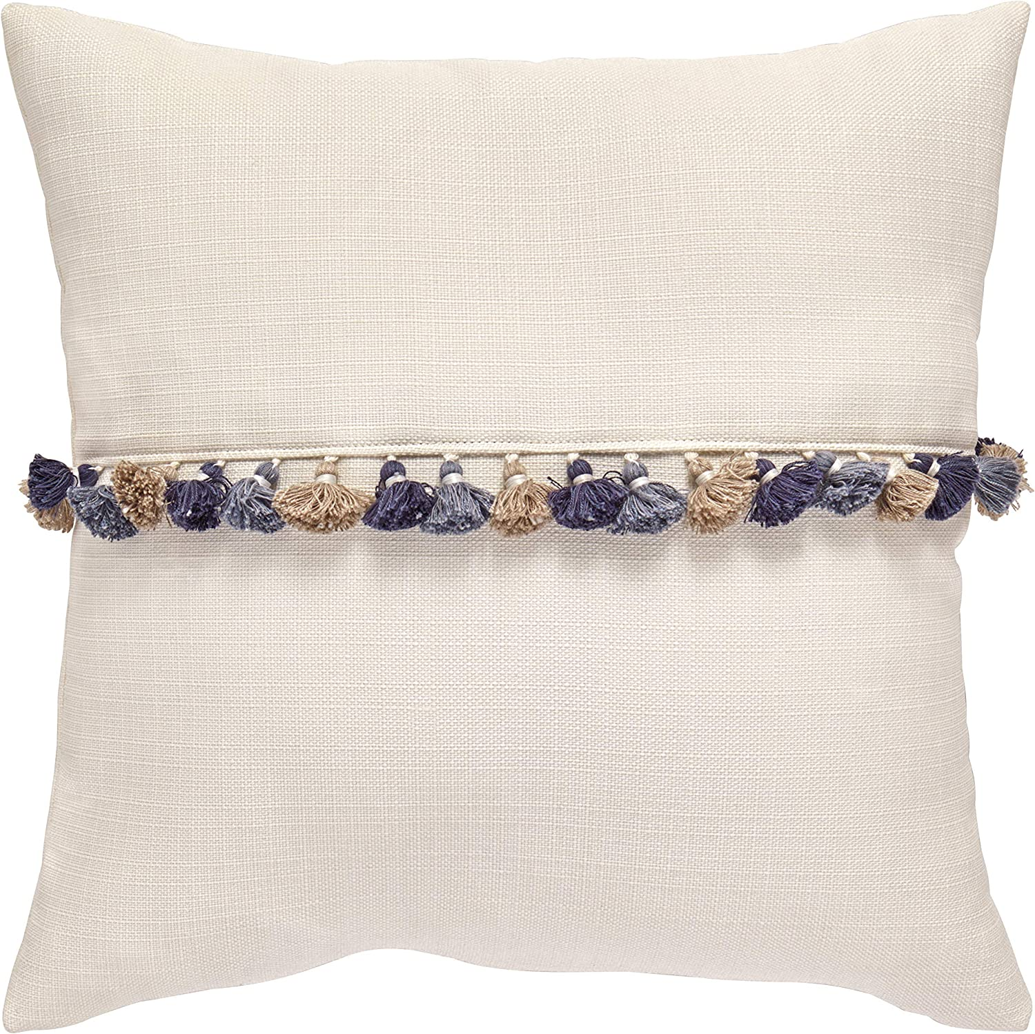 Amazon Brand – Rivet Contemporary Max 78% OFF Challenge the lowest price - Throw 17 Pillow Tassel