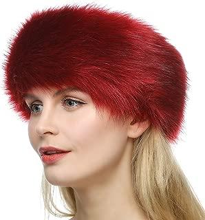 Best red faux fur headband Reviews