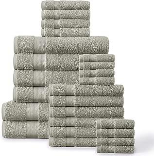 spaces 6 piece cotton towel set