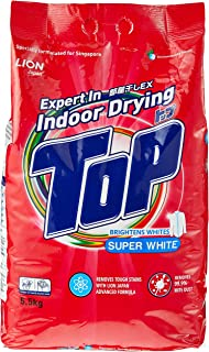 Top Powder Detergent, Super White, 5.5kg