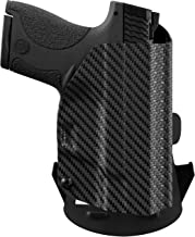 We The People - Carbon Fiber - Outside Waistband Concealed Carry - OWB Kydex Holster - Adjustable Ride/Cant/Retention
